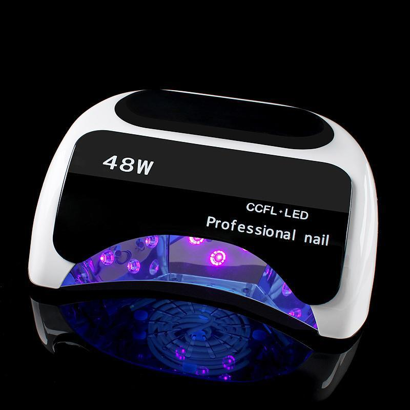 DMOLEY Professional 48W CCFL UV Lamp Sensor LED Nail Dryer