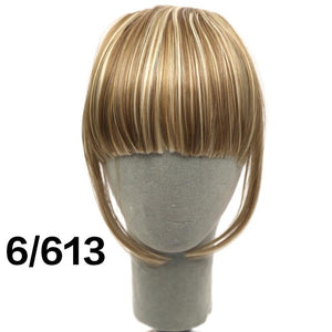SHANGKE Fringe Clip In Hair Bangs Hairpiece (8 Colors)