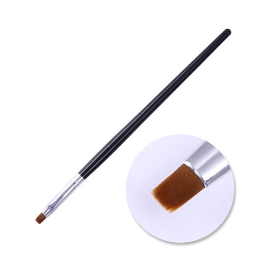 Wood Handle Powder Dust Clean Nail Brush