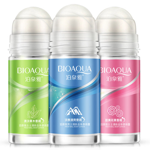 BIOAQUA Ball Body Underarm Deodorant Roll on For Men & Women