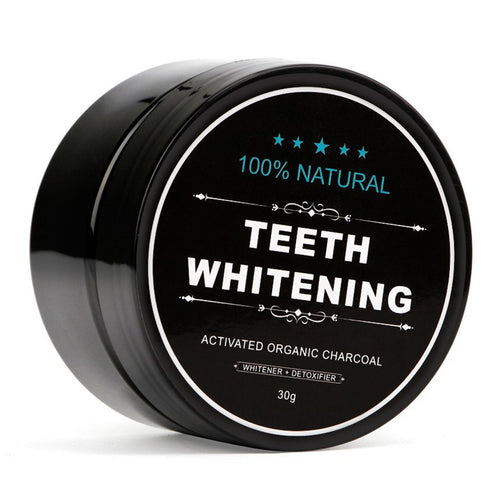 100% Natural Charcoal Powder Teeth Whitening