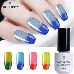 BORN PRETTY Shimmer Glitter GEL Polish