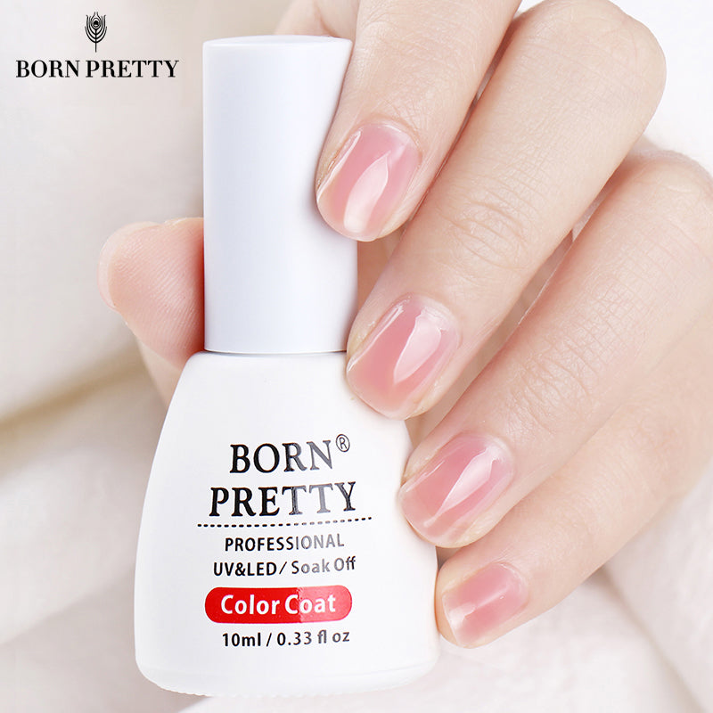 BORN PRETTY Pink Jelly Nail Gel Polish