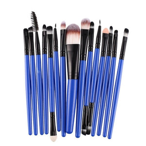 15Pcs/set Professional Makeup Brushes