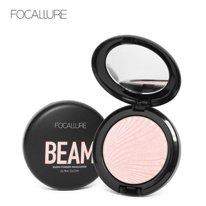 FOCALLURE New Pro Face Highlighter Palette Pressed Powder Makeup