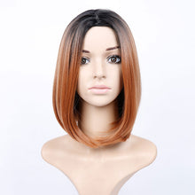 SHANGKE Hair 14'' Short Bob Synthetic Wig