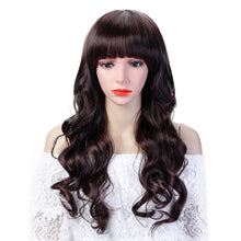 SHANGKE 22'' Long Curly Synthetic Hair Wig