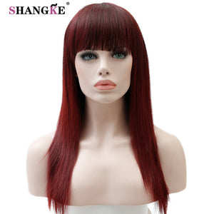 SHANGKE 22'' Long  Hair Synthetic Wigs