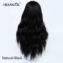 SHANGKE Long Kinky Curly Wig