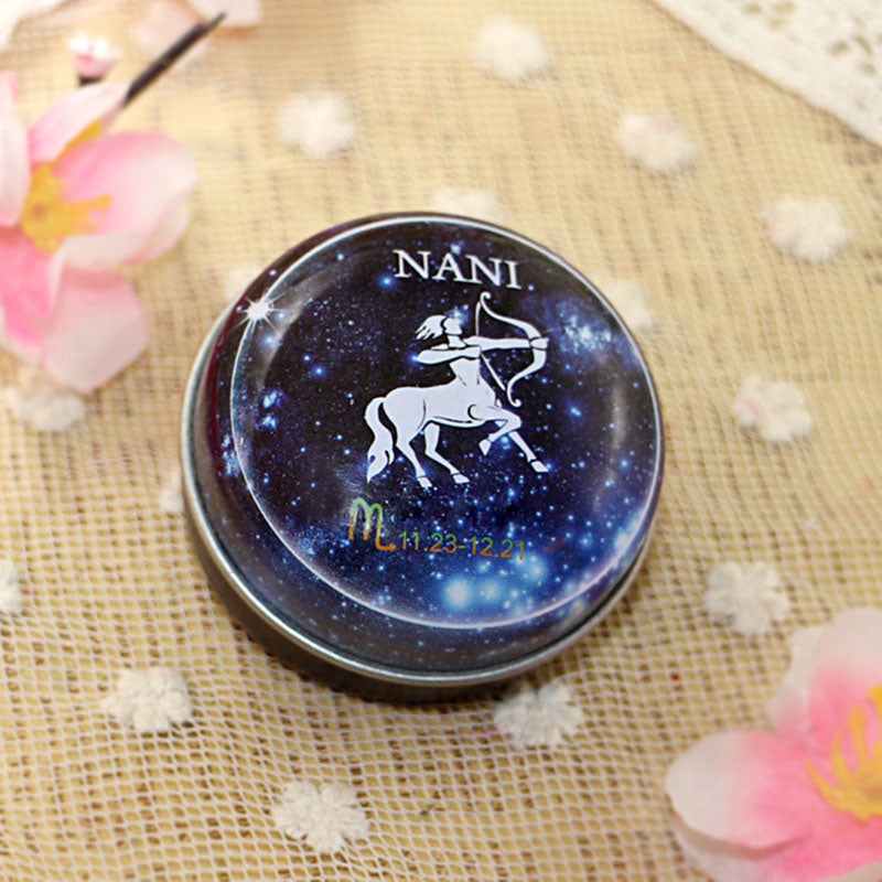 2018 NANI 12 Zodiac Sign Compact Scented Body Balm Skin Care Cream