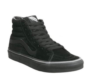 Vans - Sk8 Hi Trainers: Pirate Black Frost Grey