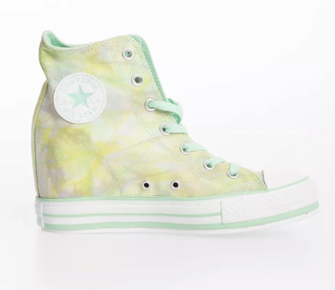 Converse - Waterpaint Simulation Shoes: Green/Turquoise
