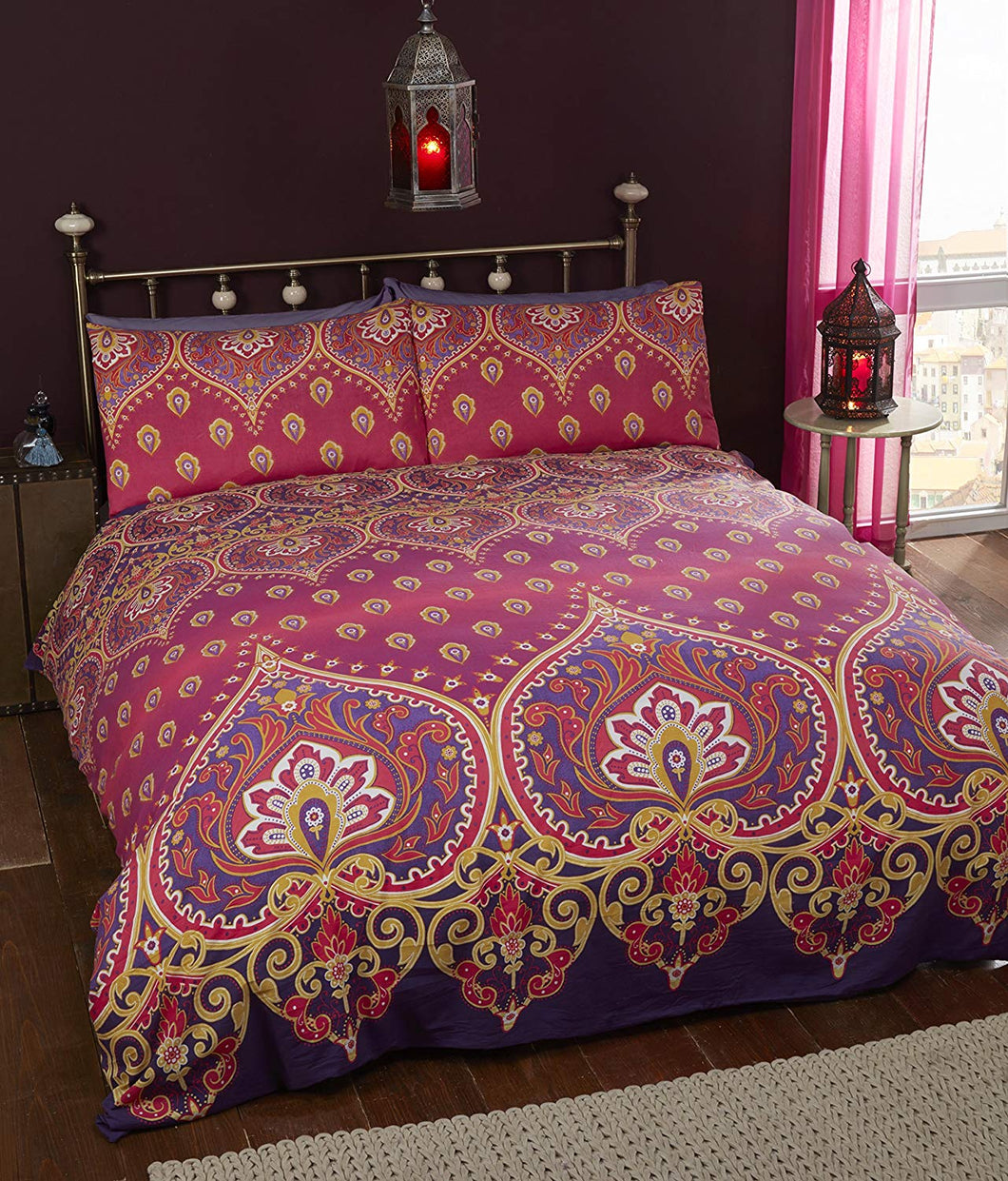 Rapport - Asha Bedding Set: Ruby