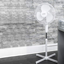 "Load image into Gallery viewer, Livivo - 16"" Electric Pedestal Fan: White"