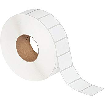 "1-1/2x1"" Thermal Transfer Labels on 3"" Core (8 rolls/cs)"