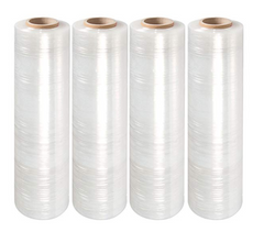 "Stretch Wrap 18"" x 1500' 80 Ga. Clear (4 rolls/case)"