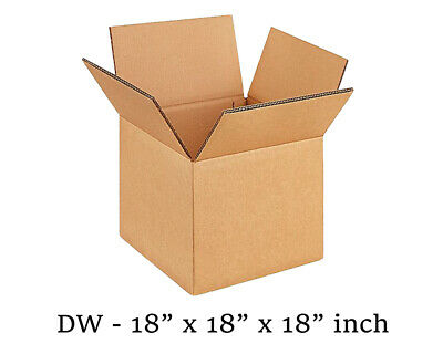"Double Wall Box 18 x 18 x 18"" (10 Boxes)"