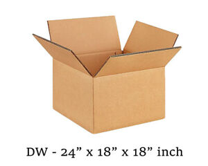 "Double Wall Box 24X18X18"" (5 Boxes)"
