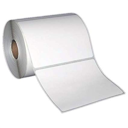 "4x3"" Direct Thermal Labels on 1"" Core (4 rolls/cs)"