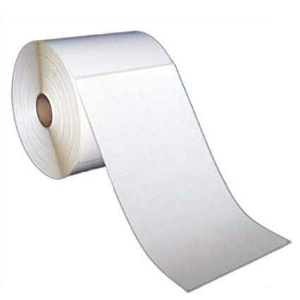 "4x8"" Direct Thermal Labels on 3"" Core (4 rolls/cs)"