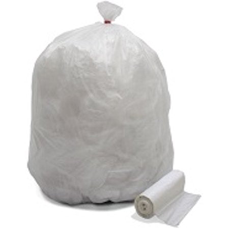 40x48 Clear Trash Bags Heavy Duty 200/cs
