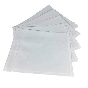 "Clear Packing List Envelopes 4-1/2 x 5-1/2"" (1000/cs)"