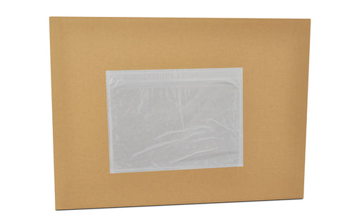 "Packing List Envelopes  7 x 10"" Clear (1,000/cs)"