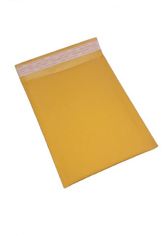 "#1 Kraft Bubble Mailer 7-1/4 x 11"" (100/cs)"