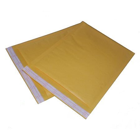 "#0 Kraft Bubble Mailer 6 x 9"" (250/cs)"