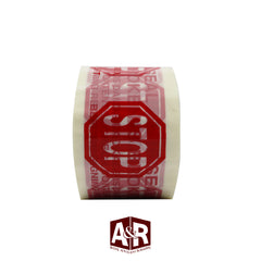"3"" x 110 yd Stop Security Tape (24 rolls)"
