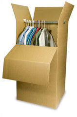 "Wardrobe Box 24 x 21 x 46"" (5 Boxes)"
