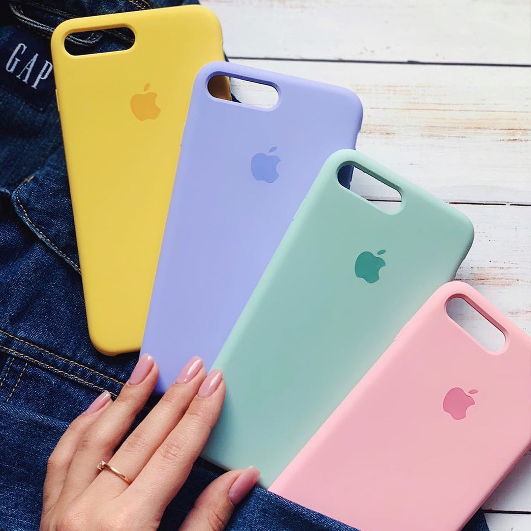 iPhone Silicone Case (Yellow)