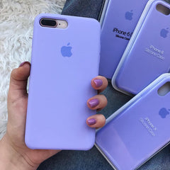 iPhone Silicone Case (Lilac)
