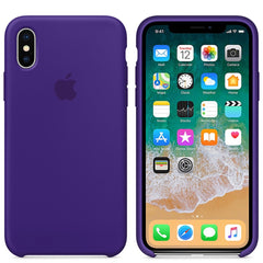 iPhone Silicone Case (Violet)
