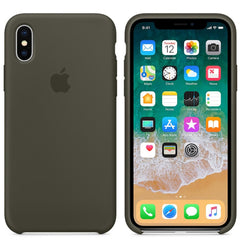 iPhone Silicone Case (Dark Olive)