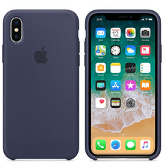 iPhone Silicone Case (Midnight Blue)