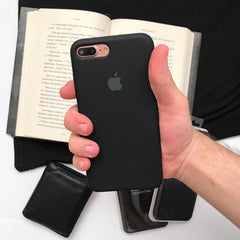 iPhone Silicone Case (Black)