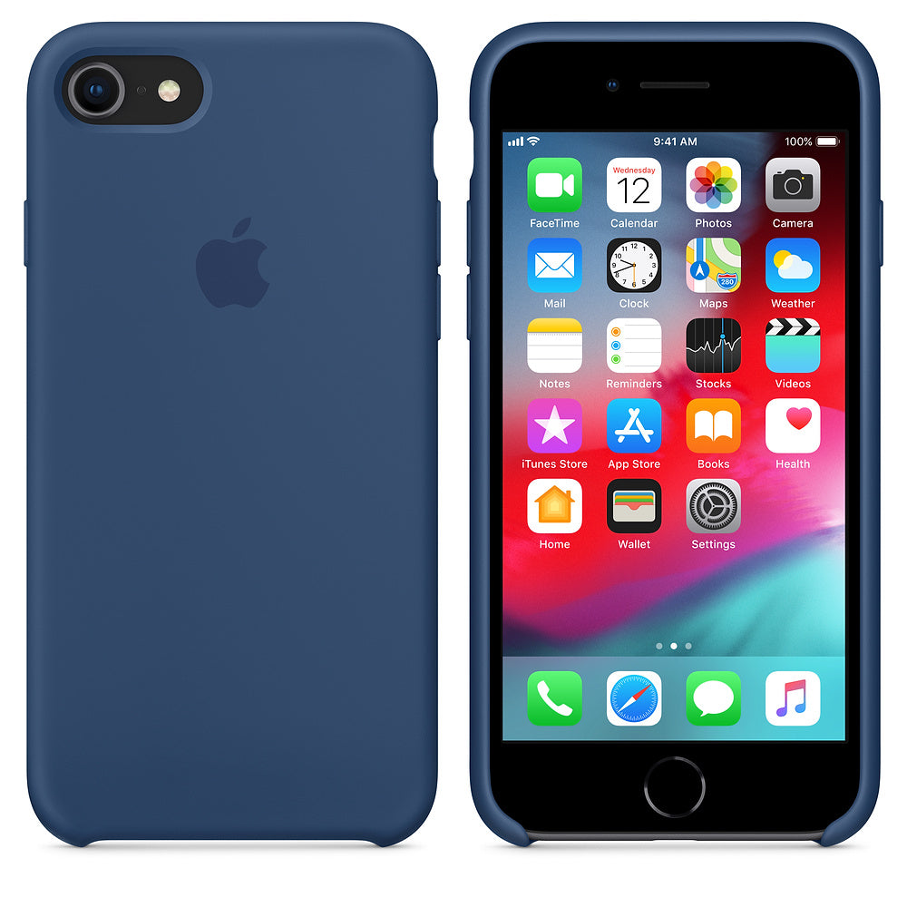 iPhone Silicone Case (Cobalt Blue)
