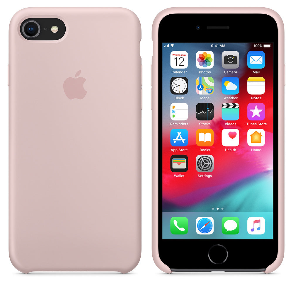 iPhone Silicone Case (Pink Sand)