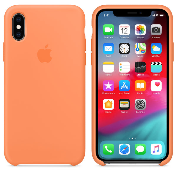 iPhone Silicone Case (Papaya)