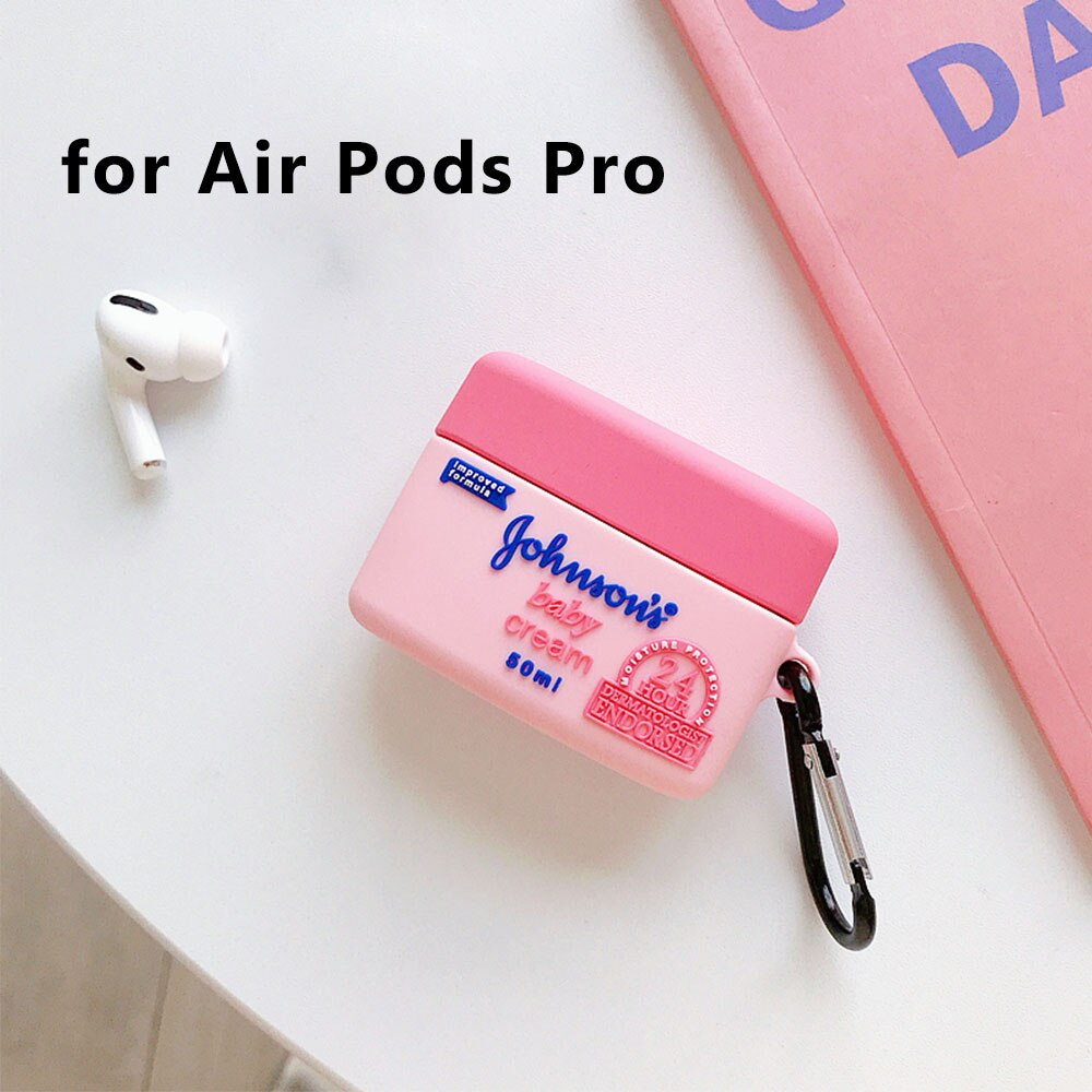 3D Johnson's Baby Airpods Case