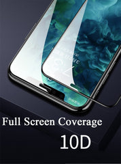 iPhone 10D Curved Edge Tempered Glass