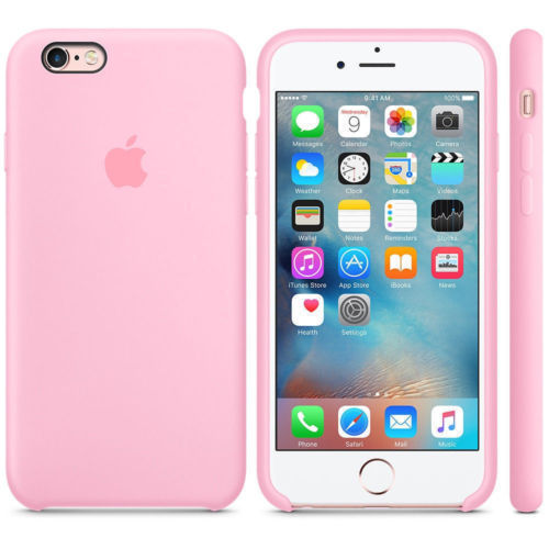 iPhone Silicone Case (Candy Pink)