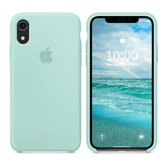 iPhone Silicone Case (Marine Green)