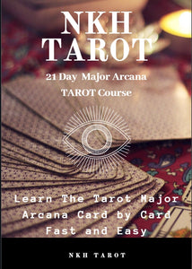 21 Day Major Arcana Tarot E Course by NKH