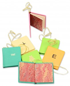 Booklet Ornaments, leather bound