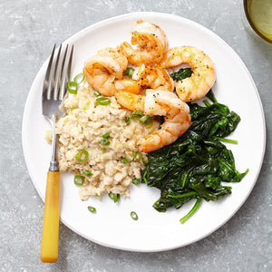 Shrimp &  Oat Grits