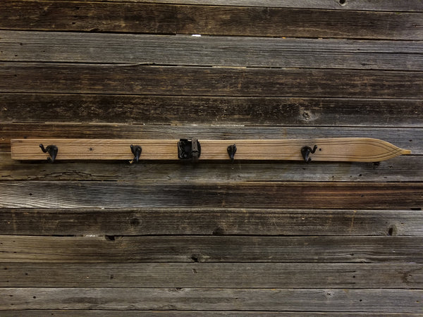 "Ski Coat Hooks - 47"" - Light"