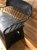 Vintage Spindle Back Buckboard Bench - 36""