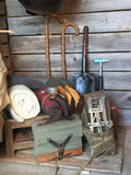 Vintage Climbing Gear Display - Wall Collage
